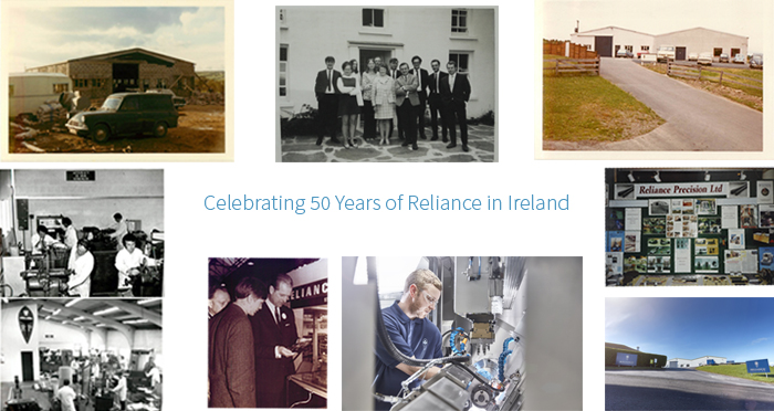 50 years of Reliance in Ireland